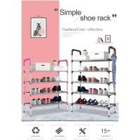 Multiple Layer Shoes Rack Organizer 5 Susun Payung Holder Mudah
