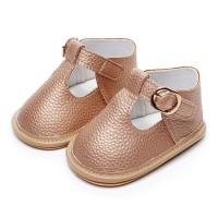 Gaya Bayi Sepatu Sandal Kulit PU Bayi Gadis Anak Lakilaki Keras