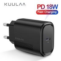 Kuulaa USB Charger 18W PD 30 Pengisian Cepat 40 Cepat Pengisian