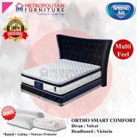 Springbed SPRING AIR Ortho Smart Comfort 200 x 200 FULL SET Kasur