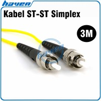 3m Fiber Optic ST to ST Patchcord Patch Cord ST ST / FO Kabel ST-ST