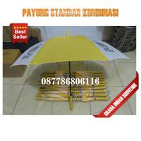payung standar kombinasi | custom logo murah payung standar promosi