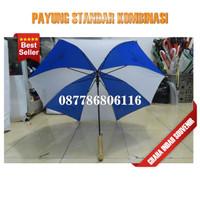 payung standar - custom murah payung standar kombinasi polos promosi