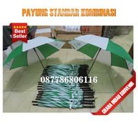 payung standar kombinasi | custom souvenir payung standar polos murah