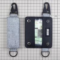 Gantungan Kunci Mobil Motor Carabiner Dompet STNK Slim DS-63