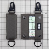 Gantungan Kunci Mobil Motor Carabiner Dompet STNK Slim DS-60