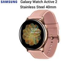 Samsung Galaxy Watch Active 2 Stainless Steel 40mm SEIN Garansi Resmi