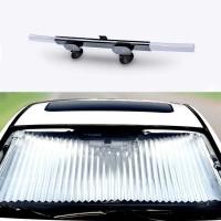 Tirai kaca mobil anti Panas anti UV Sun Shield aluminium shield Paktis