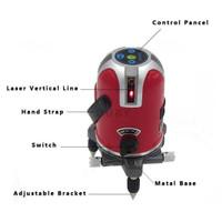 Cross Laser 5 Line 6 Point Self Leveling Laser Waterpass Mount tripod