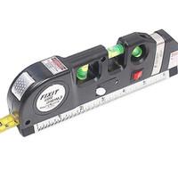 Waterpass Penggaris Meteran Laser 4 in 1 Tools Kit Tukang leveling