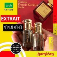 PREMIUM PARFUM SHOLAT PRIA MFK BACCARAT ROUGE 540 EXTRAIT NON ALKOHOL