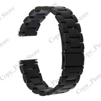 Stainless Steel Strap Watch folding clasp 22mm for Samsung Gear S3