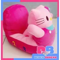 Sofa Boneka Odong-odong Karakter Hello Kitty Pink