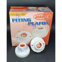 Jiamei Fitting Lampu Plafon E27 JM779 GROSIR MURAH BUKAN BROCO