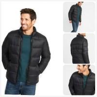 jaket winter big size old navy quilted puffer jaket musim dingin pria