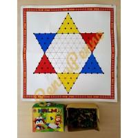Mainan Tradisional Halma Mainan Jadul Jaman Dulu Board Game