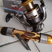 Reel Daido 6000 power handle + Joran antena laut 2.1