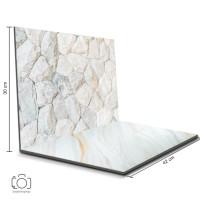 Alas Foto Lipat Batu Putih & Marmer Granit / Background Foto (SNL-12)