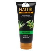 natur conditioner olive oil dan aloe vera 165ml