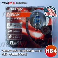 OSRAM NBR Laser HB4 51W 12V Night Breaker Next Generation NBL +150%
