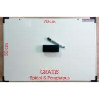 papan tulis - spidol white board - penghapus white board