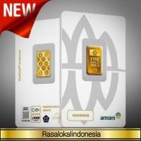 Ready 3 Gram Emas Antam/CertiEye/Reinvented/CertiCard