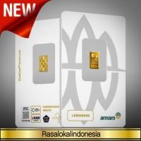 Ready 0,5 Gram Emas Antam/CertiEye/Reinvented/CertiCard