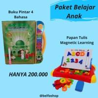 Mainan Edukasi Anak Buku Pintar & Papan Magnetik