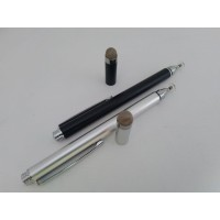 Stylus Pen 2in1 Upgrade / adonit style / gambar - Biru