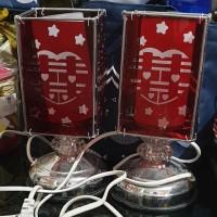 Lampu merah wedding Shuangxi listrik