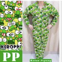 Hpy - baju tidur piyama wanita kodok hijau PP ld 105 | L - XL