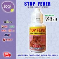 Obat Kucing Demam Akibat Flu, Pilek, Radang Infeksi, Masuk Angin