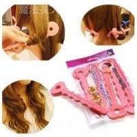 TU Bendy hair curler roller ikal keriting rambut 6pc