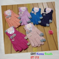 sarung tangan fashion korea wool high quality