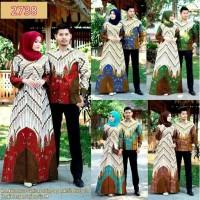 batik Couple Gamis Couple Batik sarimbit warna