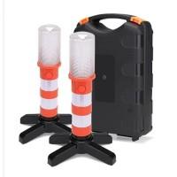 1Set (2pcs) LAMPU LED DARURAT FLASHLIGHT EMERGENCY STAND BEACON MAGNET
