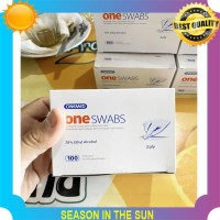 LIMITED Tisue Alkohol One Swabs Onemed Swab 2 Ply Steril Alcohol