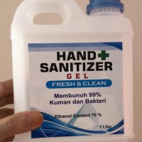 Hand Sanitizer Gel / Antiseptic Gel 1 Liter