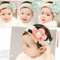 bando bayi perempuan lucu elastis lembut/bandana bayi