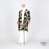 Atasan Wanita Outer GianaGreen - Emikoawa Blazer Cardigan Outerwear