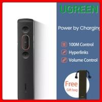 Ugreen Laser Pointer Remote Controller Presenter Wireless 2.4ghz Usb