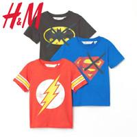 Kaos Atasan Baju Anak Lakilaki Superhero H&M