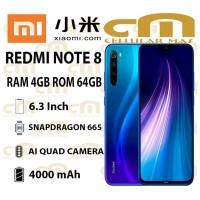 Xiaomi Redmi Note 8 4/64 RAM 4GB ROM 64GB GARANSI RESMI XIAOMI
