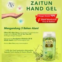 Mustika Ratu Hand Gel Olive Zaitun 50ml (Hand Sanitizer)