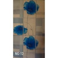 Wallpaper vinyl berserat 53cm x 10m excellent wallpaper dinding