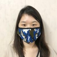 Masker Kain EarLoop + Tali mencegah Virus Corona yg terpapar dri udara
