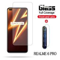 Tempered Glass Realme 6 PRO Pelindung Layar dan Kamera Belakang
