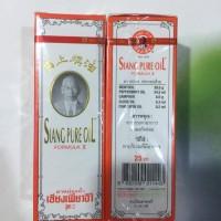 Siang pure oil asli thailand 25cc (putih)