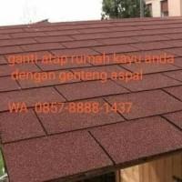 renov/ganti atap lama dengan genteng betumen