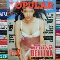 Majalah popular cover tyrenz dan swimsuit masih dilengkapi poster